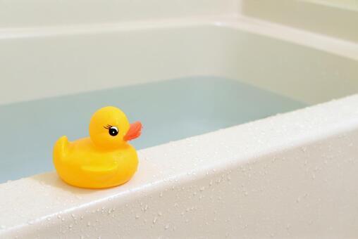 お風呂に浸かる