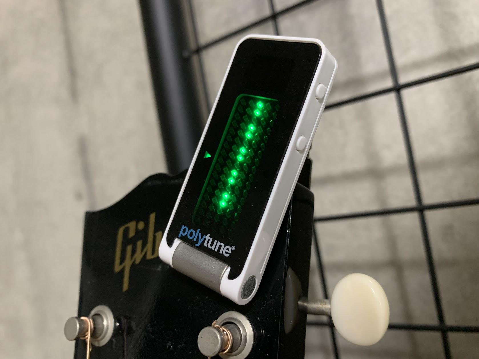 ギターチューナーの画像